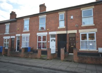 Thumbnail 2 bed terraced house to rent in Sutherland Road, Derby