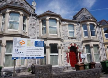 Thumbnail 1 bed town house to rent in Houndiscombe Road, Mutley, Plymouth
