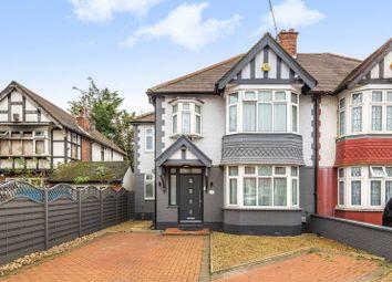 Thumbnail 4 bed semi-detached house for sale in Castleton Gardens, Wembley Park, Wembley