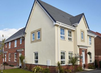 "Thumbnail 3 bedroom semi-detached house for sale in ""Morpeth II"" at Ash Road, Thornton-Cleveleys"