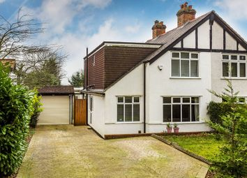 Thumbnail 4 bed semi-detached house for sale in Portnalls Road, Coulsdon