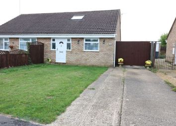 Thumbnail 3 bed semi-detached house for sale in Crowson Crescent, Northborough, Market Deeping, Cambridgeshire