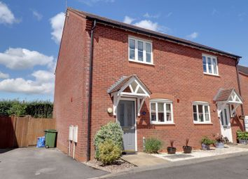 Thumbnail 2 bed semi-detached house for sale in Stoney Brook Close, Hixon, Stafford