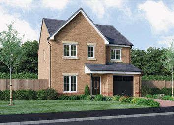 "Thumbnail 4 bedroom detached house for sale in ""The Foster"" at Ladyburn Way, Hadston, Morpeth"