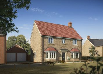"Thumbnail 4 bed detached house for sale in ""The Rougemont"" at Highworth Road, Shrivenham, Swindon"