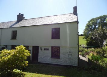 Thumbnail 2 bed semi-detached house to rent in Duporth Road, Charlestown, St Austell, Cornwall