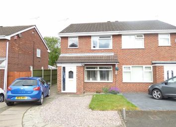 Thumbnail 3 bed semi-detached house for sale in Heron Crescent, Sydney, Crewe