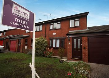 Thumbnail 3 bed semi-detached house to rent in Whitechapel Close, Bolton