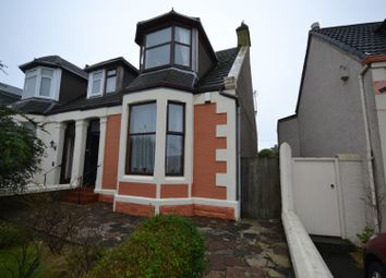 Thumbnail 3 bedroom semi-detached house for sale in Caledonia Road, Ardrossan