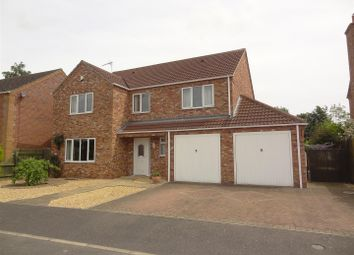 Thumbnail 4 bed detached house for sale in The Sidings, Ruskington, Sleaford