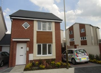 Thumbnail 2 bed detached house to rent in Hattersley Way, Leicester