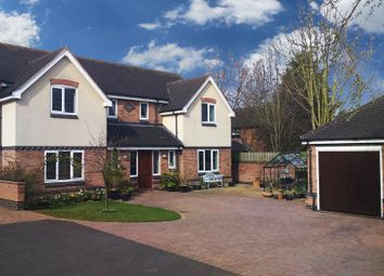 Thumbnail 5 bed detached house for sale in The Crescent, Rothley, Leicester