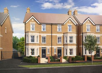 Thumbnail 4 bedroom town house for sale in Plot 63 The Melton, Warwick Avenue, Bedford