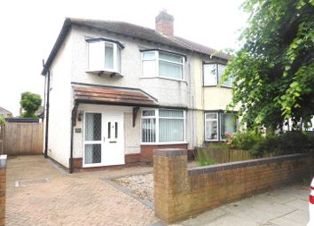 Thumbnail 3 bed semi-detached house to rent in Neville Road, Bromborough