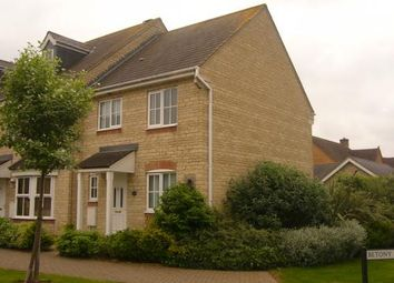 Thumbnail 3 bed end terrace house to rent in Lucerne Avenue, Bicester