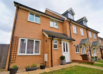 Thumbnail 3 bed end terrace house for sale in Gamelan Walk, Hoo, Rochester