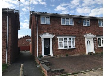 Thumbnail 3 bed semi-detached house to rent in Brooklands Road, Milton Keynes