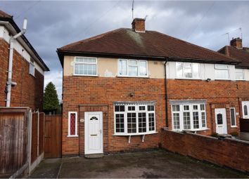 Thumbnail 3 bed semi-detached house for sale in Glendower Close, Leicester