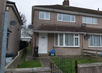 Thumbnail 3 bedroom end terrace house to rent in Leinster Avenue, Knowle, Bristol