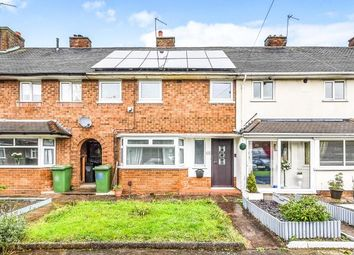 Thumbnail 3 bed terraced house for sale in King George Place, Rushall, Walsall, .