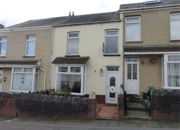 Thumbnail 2 bed terraced house for sale in Manor Road, Manselton, Swansea