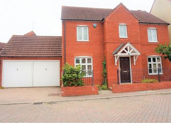 Thumbnail 3 bed detached house for sale in Burge Meadow, Taunton