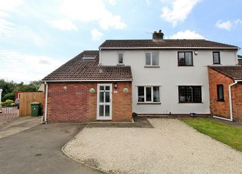 Thumbnail 4 bed semi-detached house for sale in Windsor Court, Pontyclun, Rhondda, Cynon, Taff.