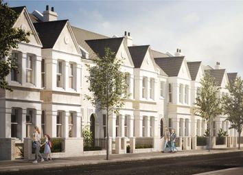 Thumbnail 4 bed terraced house for sale in Mandrell Road, London