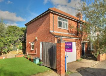 Thumbnail 3 bedroom semi-detached house for sale in Atthill Road, Norwich