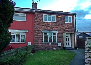 Thumbnail 3 bedroom semi-detached house for sale in Johnson Estate, Wheatley Hill, Durham