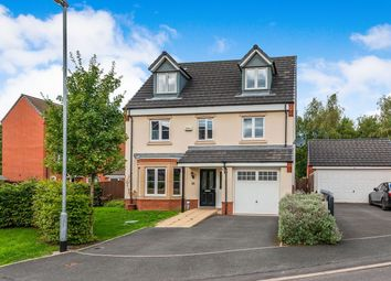 Thumbnail 6 bed detached house to rent in Woodbine Close, Huntington, Cannock