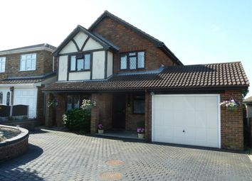 Thumbnail 4 bed detached house for sale in Oakleigh Avenue, Hullbridge, Hockley