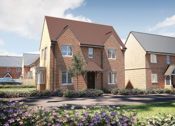 "Thumbnail 3 bed detached house for sale in ""The Staunton"" at Roman Road, Bobblestock, Hereford"