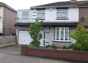 Thumbnail 4 bedroom semi-detached house for sale in Clifford Bridge Road, Binley, Coventry, West Midlands
