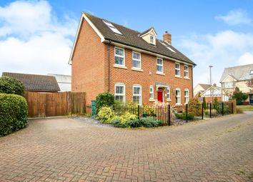 Thumbnail 6 bed detached house for sale in Crow Hill Lane, Great Cambourne, Cambridge