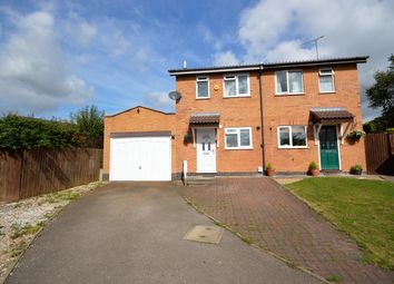Thumbnail 2 bed semi-detached house to rent in Tiverton Close, Narborough, Leicester