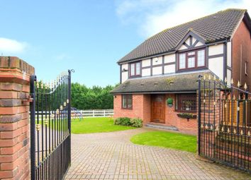 Thumbnail 4 bedroom detached house for sale in Castle Close, Noak Hill, Essex