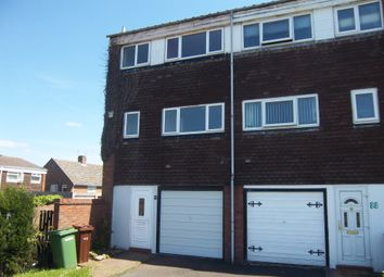 Thumbnail 3 bed town house to rent in Hackford Road, Lanesfield, Wolverhampton