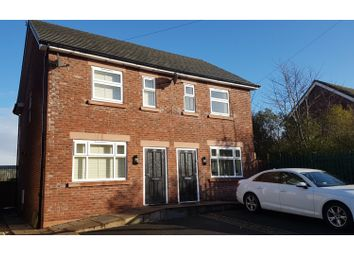 Thumbnail 2 bed semi-detached house for sale in Newton Road, Wilmslow