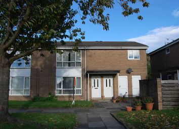 Thumbnail 1 bed flat for sale in Barmouth Close, Wallsend