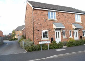 Thumbnail 2 bedroom end terrace house for sale in St Davids Mews, Wychwood Village, Crewe