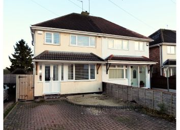 Thumbnail 3 bedroom semi-detached house for sale in Chaffcombe Road, Birmingham