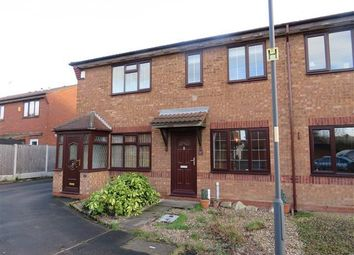 Thumbnail 2 bed terraced house to rent in Barford Close, Wednesbury