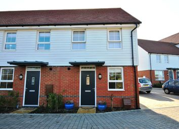 Thumbnail 2 bed end terrace house for sale in Wellwish Drive, Bexhill-On-Sea, East Sussex