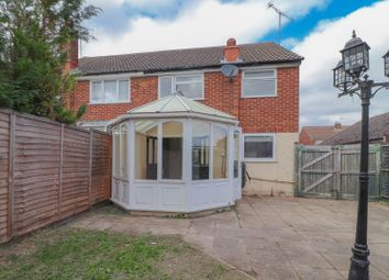 Thumbnail 3 bed semi-detached house for sale in St. Michaels Avenue, Dunstable