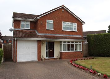 Thumbnail 4 bed detached house for sale in Cornwall Avenue, Tamworth