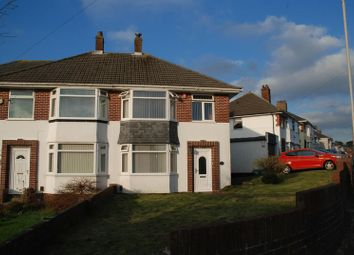 Thumbnail 3 bed semi-detached house to rent in Scott Road, Plymouth