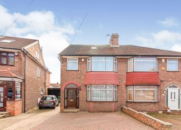 Thumbnail 4 bed semi-detached house for sale in Westleigh Gardens, Edgware