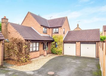Thumbnail 3 bed detached house for sale in Loxley Close, Oakwood, Derby