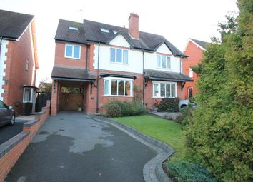 Thumbnail 4 bed semi-detached house to rent in Church Road, Webheath, Redditch